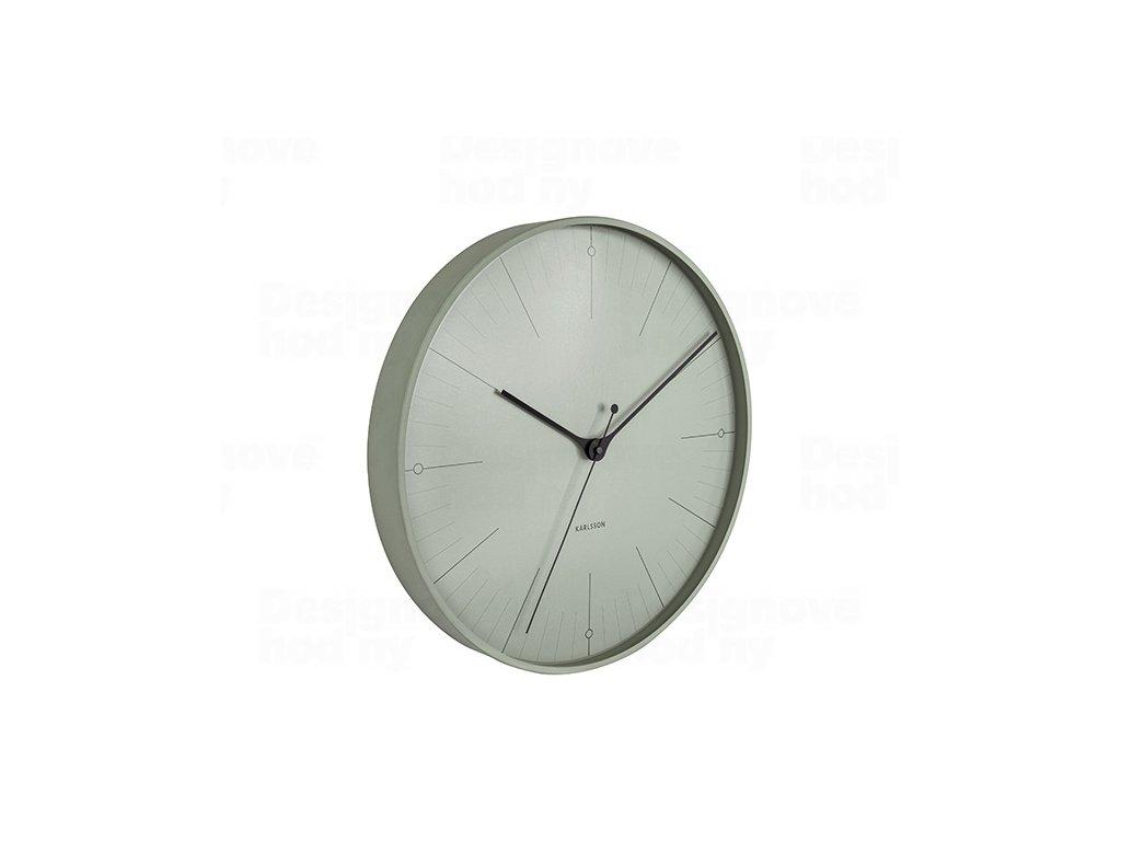Designové nástěnné hodiny 5769GR Karlsson 40cm