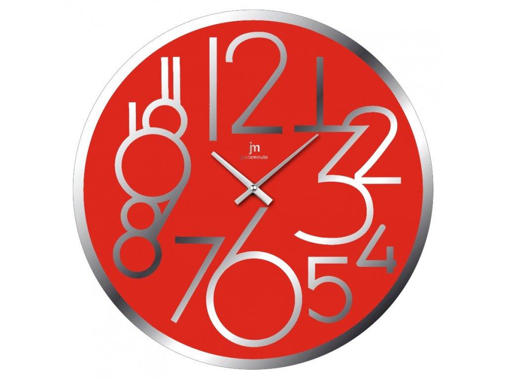 Designové nástěnné hodiny 14892R Lowell 38cm