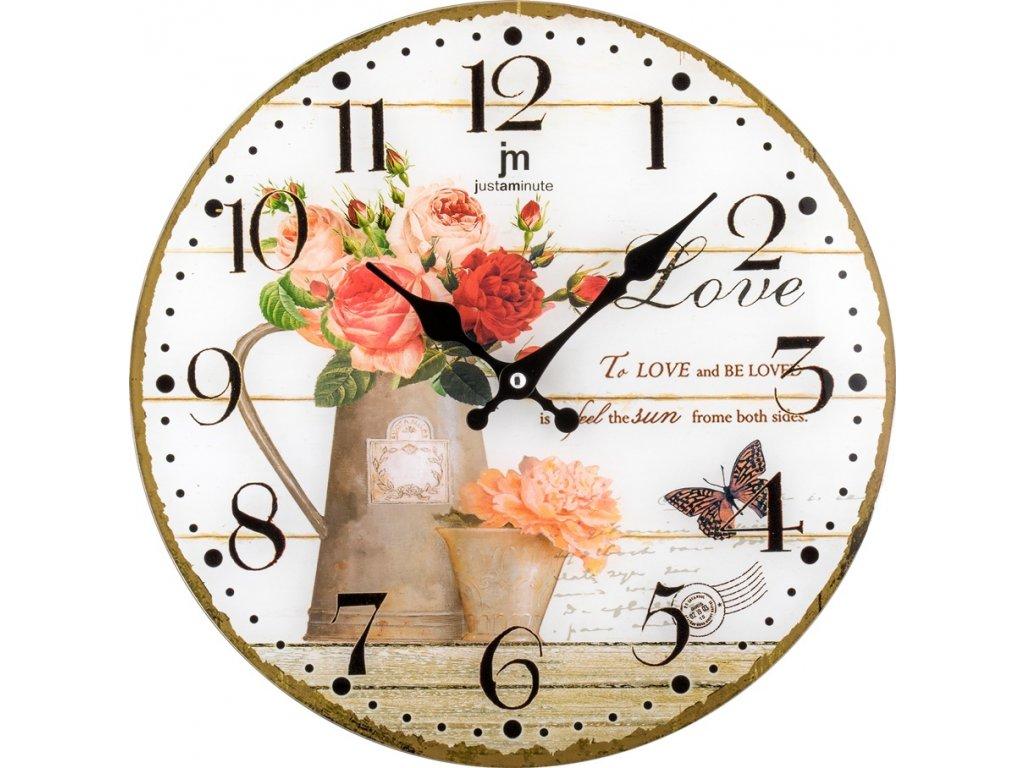 Designové nástěnné hodiny 14891 Lowell 34cm