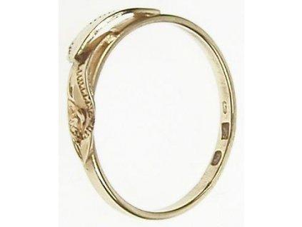 Prsten zlatý 1/24402-A