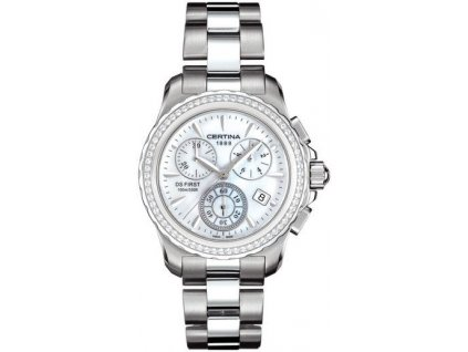 CERTINA C538.7184.48.91 DS First Lady Chrono Diamonds