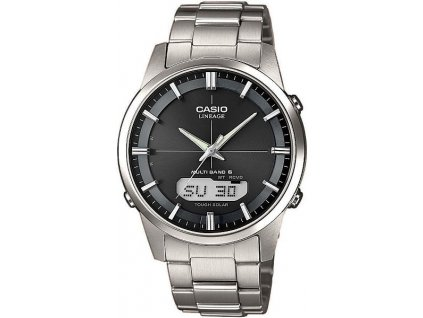 CASIO LCW-M170TD-1A Lineage Radio Controlled titanové hodinky