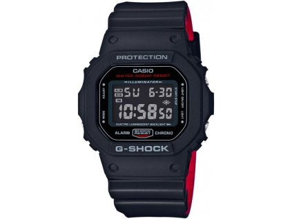 CASIO DW-5600HR-1 G-Shock Black and Red Series