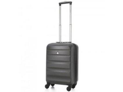 Kabinové zavazadlo AEROLITE T-322/1-S ABS - charcoal