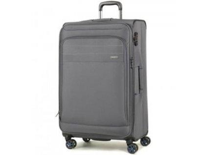Cestovní kufr ROCK TR-0162/3-L - šedá