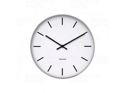 Designové nástěnné hodiny 4379 Karlsson 38cm - poškozený obal