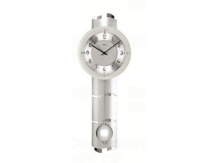 Kyvadlové nástěnné hodiny 5215 AMS řízené rádiovým signálem 66cm