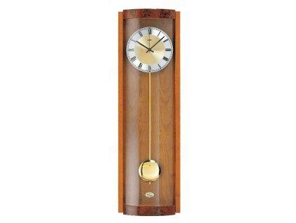 Kyvadlové nástěnné hodiny 5087/9 AMS řízené rádiovým signálem 71cm