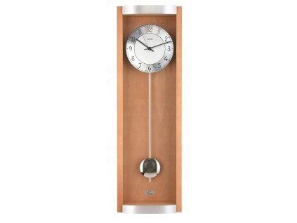Kyvadlové nástěnné hodiny 5285/18 AMS řízené rádiovým signálem 71cm