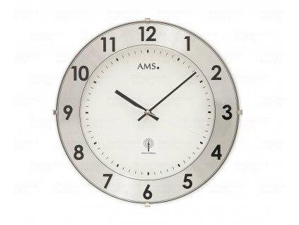 Nástěnné hodiny 5948 AMS řízené rádiovým signálem 30cm