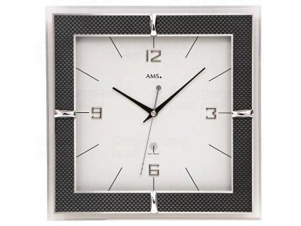Nástěnné hodiny 5855 AMS řízené rádiovým signálem 30cm