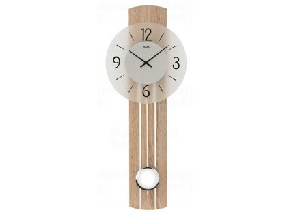 Kyvadlové nástěnné hodiny 7274 AMS 60cm