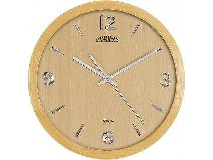 Nástěnné hodiny PRIM Wood Style I