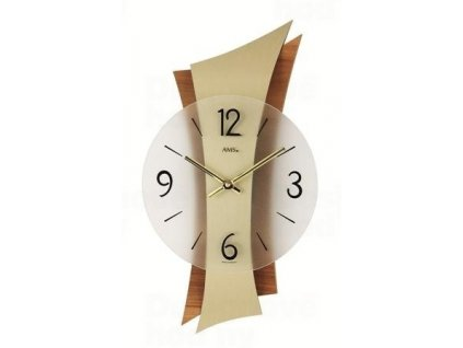 Nástěnné hodiny 9396 AMS 43cm