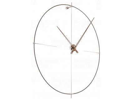 Designové nástěnné hodiny Nomon Bilbao N černé 110cm