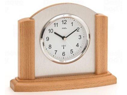 Stolní hodiny 5123/18 AMS řízené rádiovým signálem 20cm