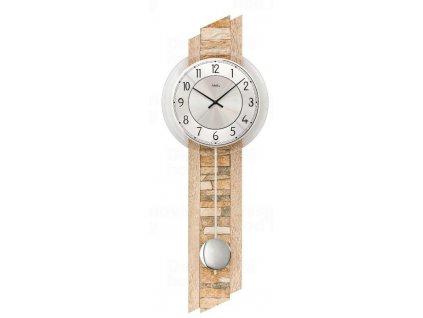 Kyvadlové nástěnné hodiny 7423 AMS 67cm