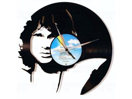 Designové nástěnné hodiny Discoclock 104 Jim Morison 30cm