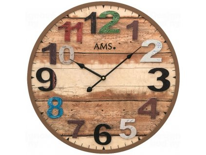 Nástěnné hodiny 9539 AMS 50cm