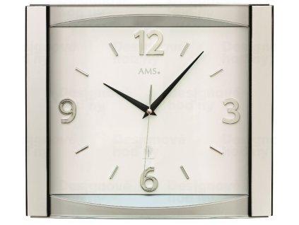 Nástěnné hodiny 5614 AMS řízené rádiovým signálem 39cm