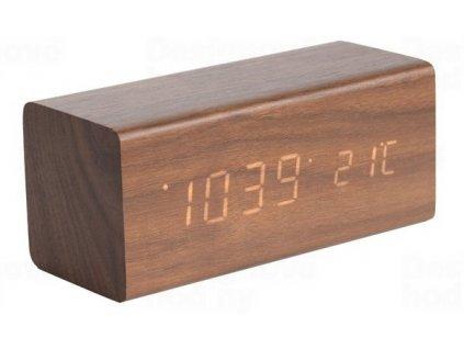 Designový LED budík - hodiny 5652DW Karlsson 16cm
