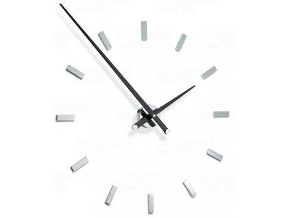 Designové nástěnné hodiny Nomon TACON 12L black 100cm
