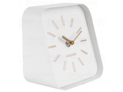 Designové stolní hodiny KA5718WH Karlsson 15cm