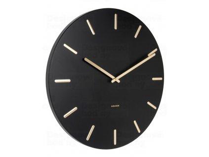 Designové nástěnné hodiny 5716BK Karlsson 45cm