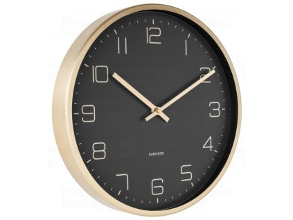 Designové nástěnné hodiny 5720BK Karlsson 30cm