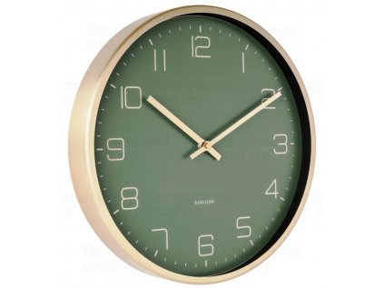 Designové nástěnné hodiny 5720GR Karlsson 30cm