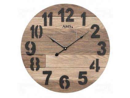 Designové nástěnné hodiny 9569 AMS 50cm