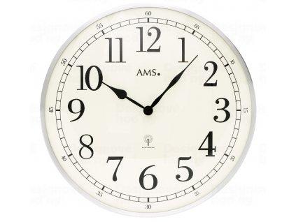 Nástěnné hodiny 5606 AMS řízené rádiovým signálem 40cm