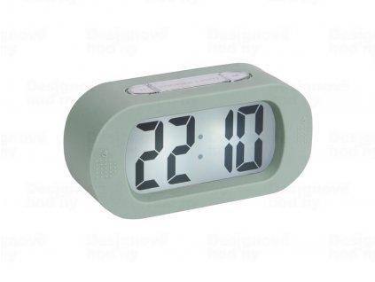 Stolní digitální hodiny-budík Karlsson KA5753GR