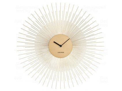 Designové nástěnné hodiny 5817GD Karlsson 45cm