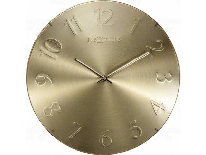 Designové nástěnné hodiny 3236go Nextime Elegant Dome 35cm