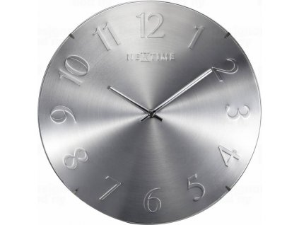 Designové nástěnné hodiny 3236zi Nextime Elegant Dome 35cm