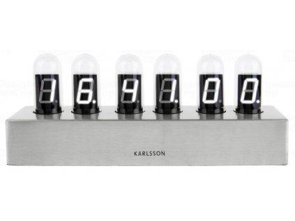 Designové digitální stolní hodiny 4208 Karlsson 28cm