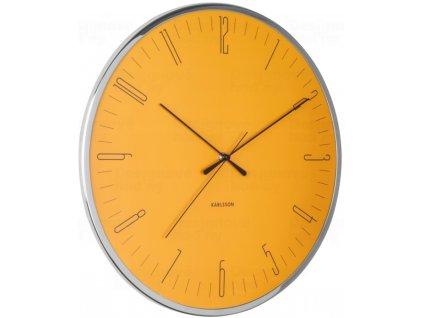 Designové nástěnné hodiny 5754YE Karlsson 40cm