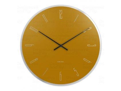 Designové nástěnné hodiny 5800YE Karlsson 40cm