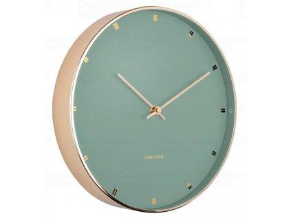 Designové nástěnné hodiny 5776GR Karlsson 27cm