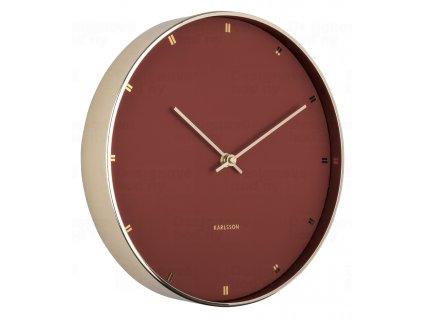 Designové nástěnné hodiny 5776BR Karlsson 27cm