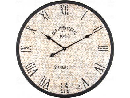 Designové nástěnné hodiny 21521 Lowell 60cm