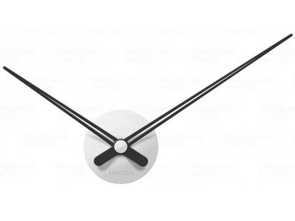 Designové nástěnné hodiny 5838WH Karlsson white 44cm
