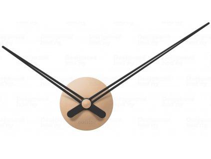 Designové nástěnné hodiny 5838SB Karlsson sand brown 44cm