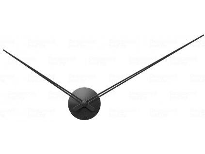 Designové nástěnné hodiny 5837BK Karlsson black 90cm