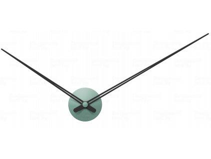 Designové nástěnné hodiny 5837GR Karlsson green 90cm
