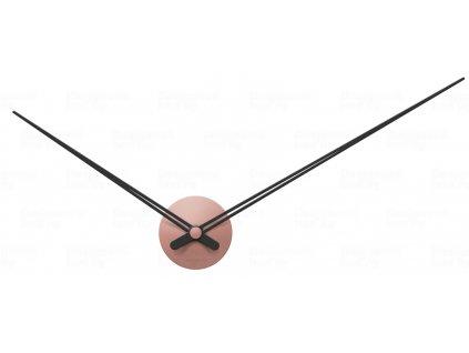 Designové nástěnné hodiny 5837PI Karlsson pink 90cm