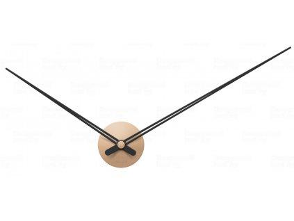 Designové nástěnné hodiny 5837SB Karlsson sand brown 90cm