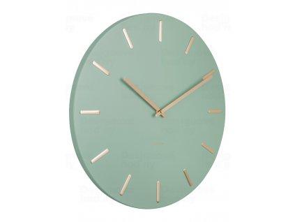 Designové nástěnné hodiny 5821GR Karlsson 30cm