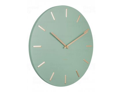 Designové nástěnné hodiny 5716GR Karlsson 45cm